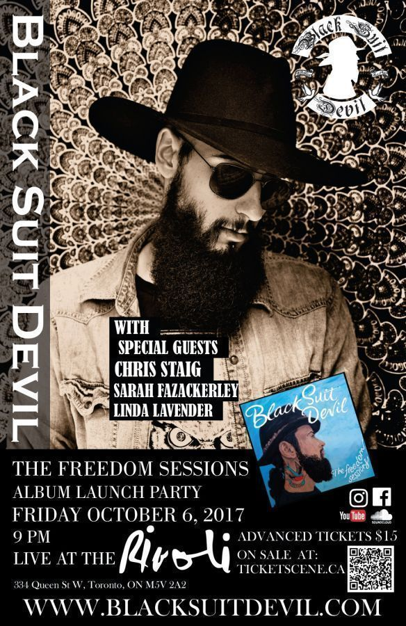 Black Suit Devil | The Freedom Sessions | Album Launch Party
