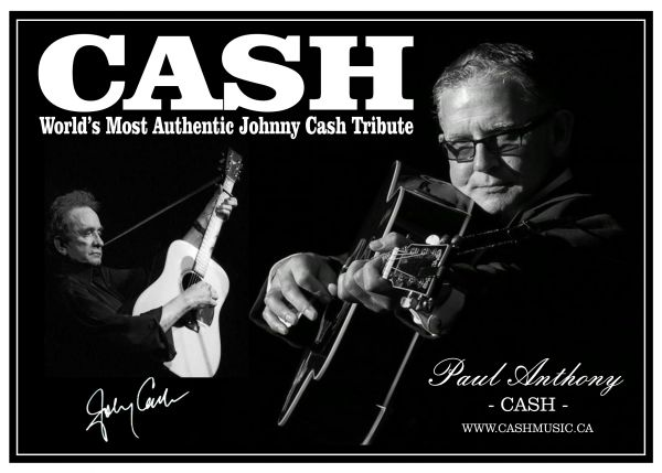 CASH - The World's Most Authentic Johnny Cash Tribute Show
