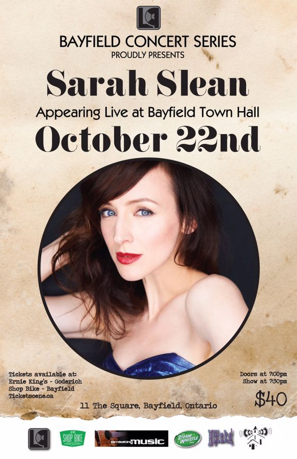 Sarah Slean Live at The Bayfield Concert Series