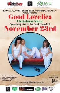 The Good Lovelies Holiday Show Live at The Bayfield Concert Series