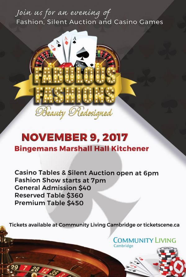 Fabulous Fashions - Beauty Redesigned Fashion Show and Casino Night