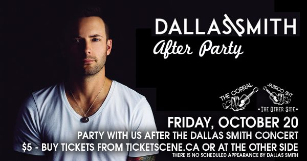 Dallas Smith After Party