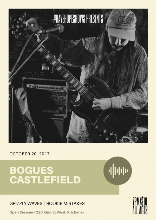 Bogues, Grizzly Waves, Castlefield and More - Kitchener
