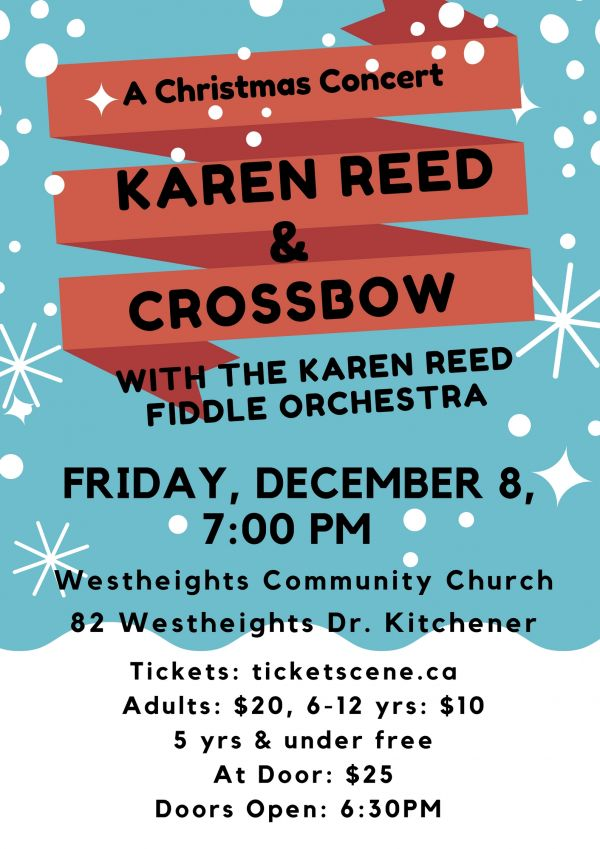 A Christmas Concert; Karen Reed and Crossbow with the Karen Reed Fiddle Orchestra