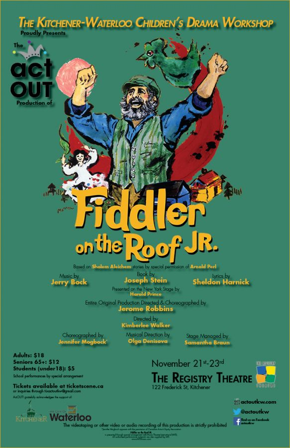Fiddler on the Roof Jr (Sunrise Cast)
