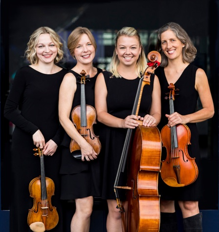 A CanAmerican String Quartet from Pittsburgh Symphony