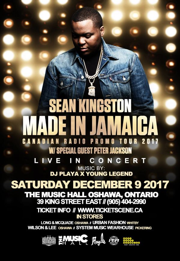 Sean Kingston Live - Group Rates Available!