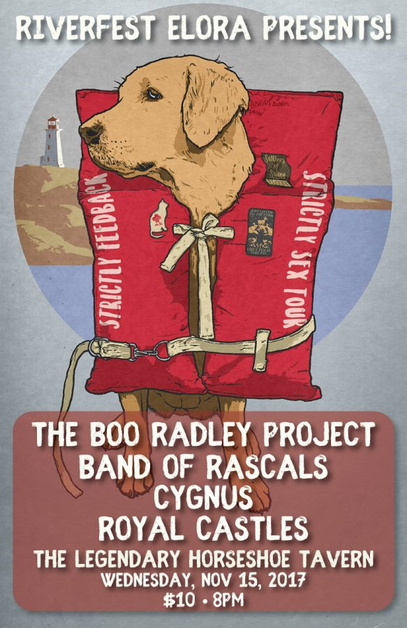 Riverfest Elora Presents: The Boo Radley Poject, Band of Rascals and more!