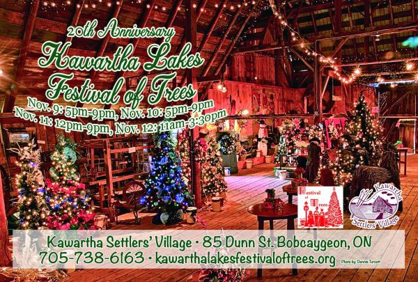 20th Annual Kawartha Lakes Festival of Trees