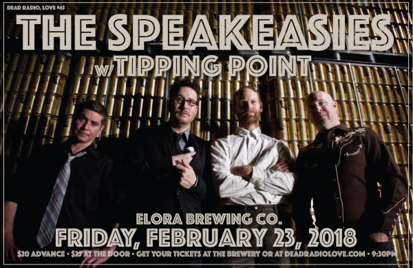 DRL45 • The Speakeasies w/ Tipping Point