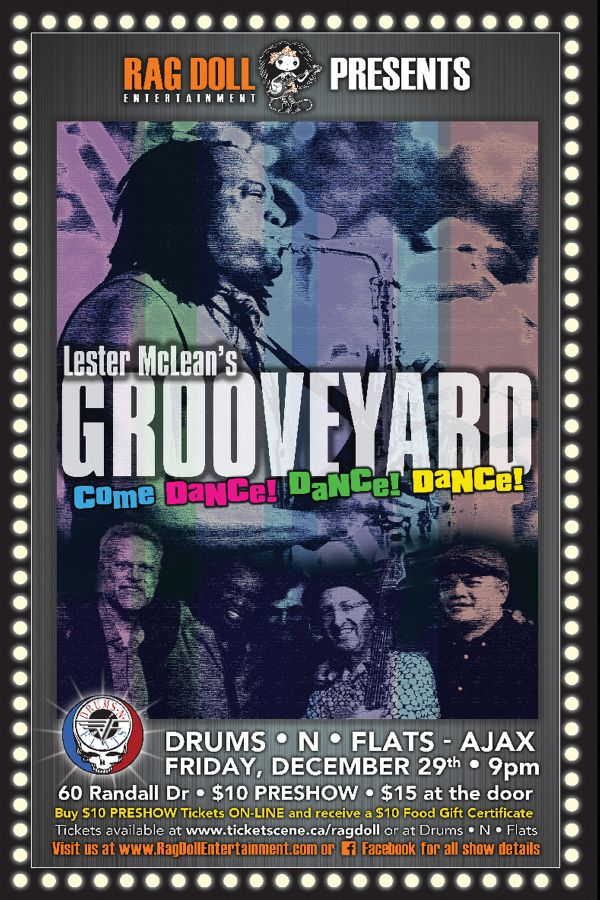 LESTER McLEAN'S - Grooveyard - Dance Band