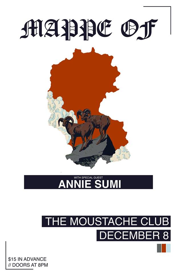 Mappe Of Live at The Moustache Club