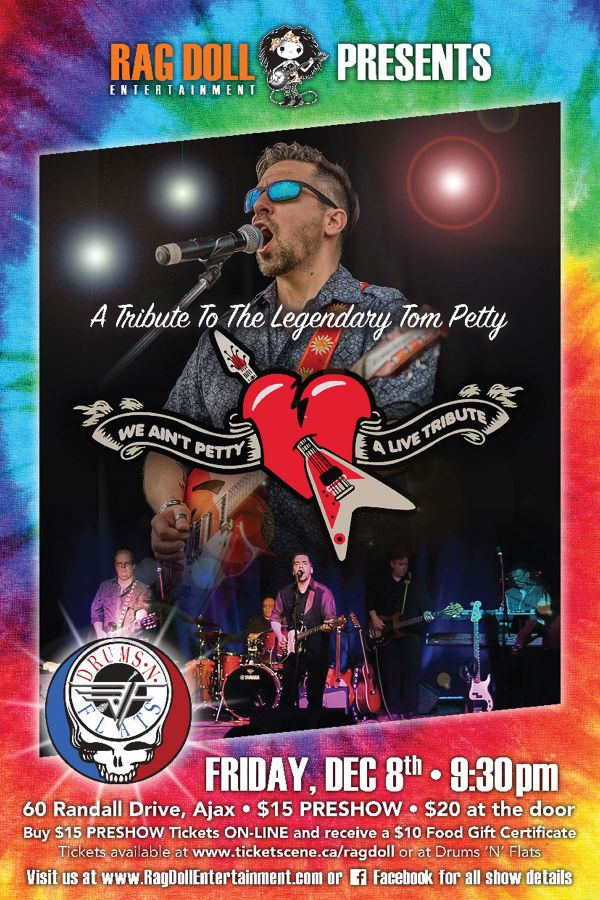 WE AIN'T PETTY - A Tribute To The Legendary Tom Petty!