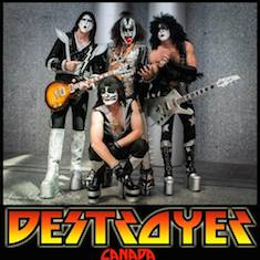 Destroyer - KISS tribute