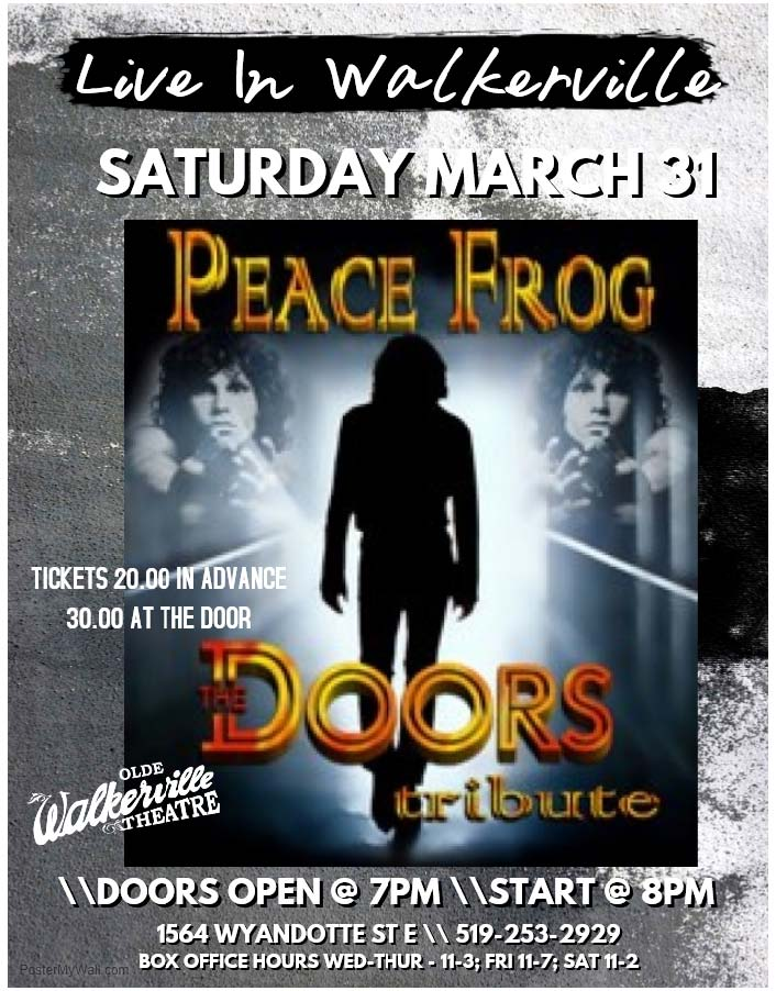 Peace Frog - Doors Tribute