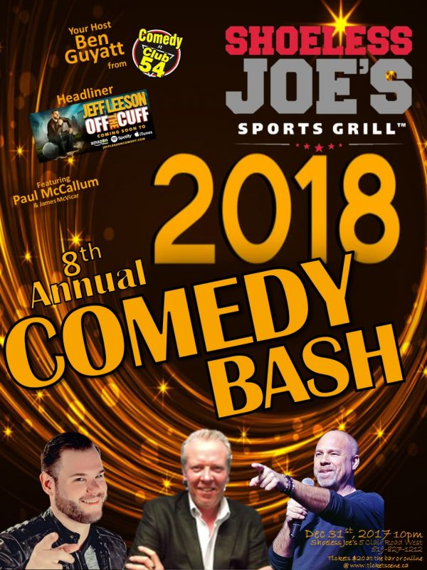 8th Annual New Year's Eve Comedy Bash