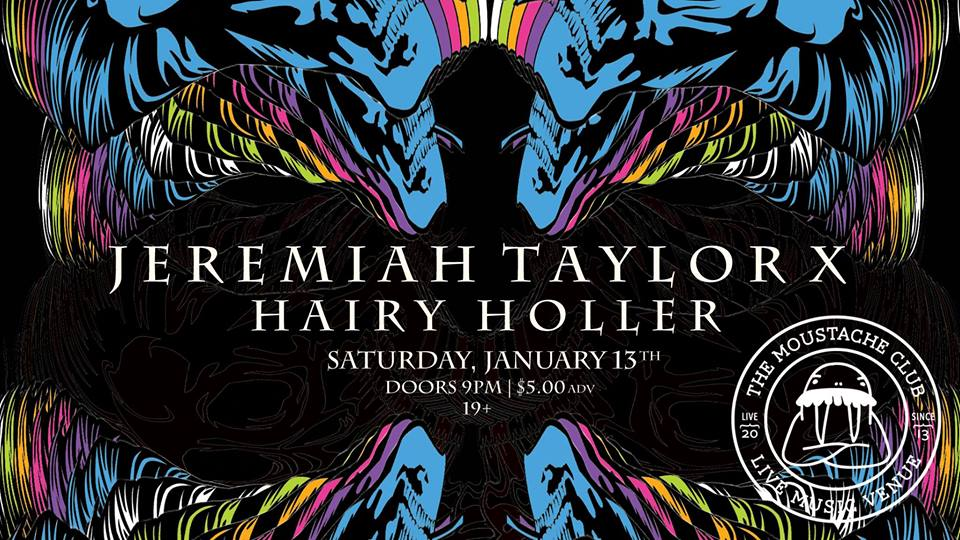 Jeremiah Taylor X with Hairy Holler Live at The Moustache Club
