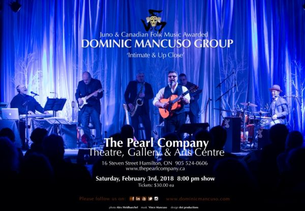 Dominic Mancuso Group: Intimate and Up Close!
