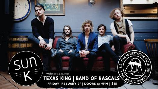Sun K with Texas King & Band of Rascals
