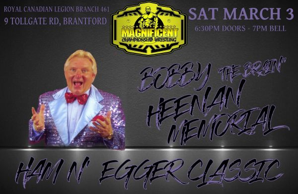 MCW: Bobby The Brain Heenan Memorial Ham N' Egger Classic
