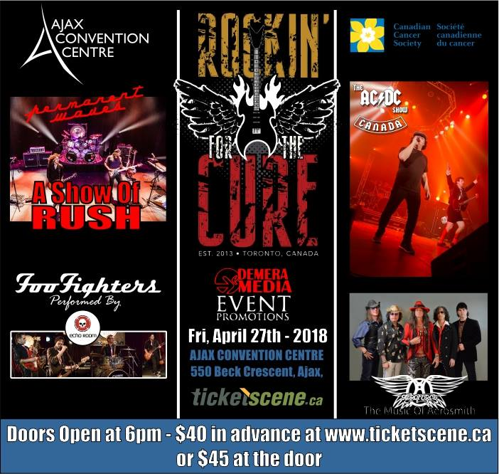 Rockin' For The Cure 2018 - Live at The Ajax Convention Center