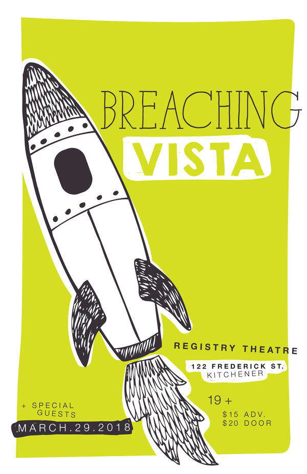 Breaching Vista Live at The Registry Theatre