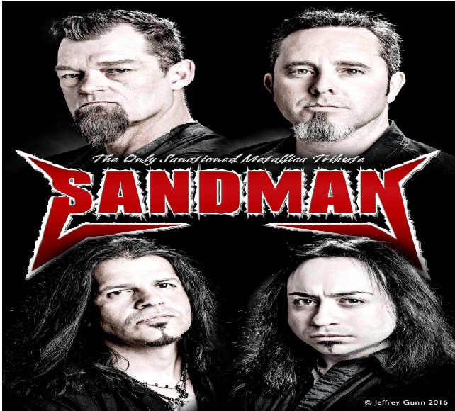 SANDMAN - THE ONLY METALLICA SANCTIONED TRIBUTE
