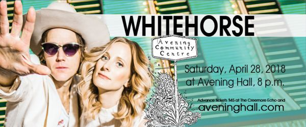 Whitehorse in Concert at the Avening Hall
