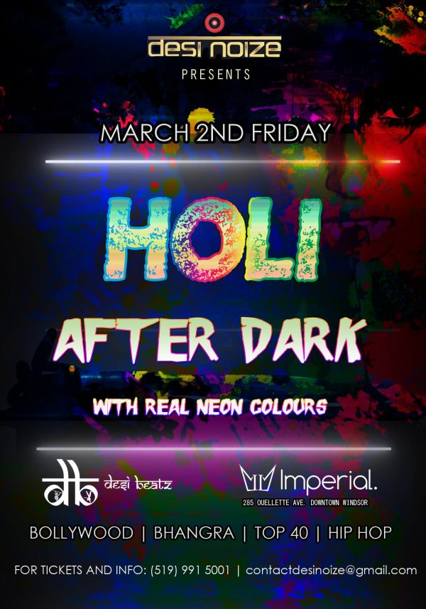 HOLI After-Dark: Neon Color Party