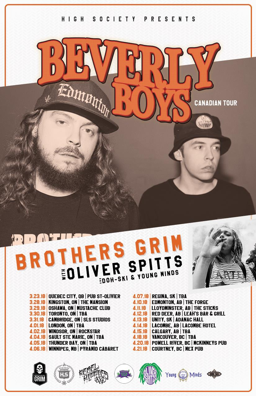 Brothers Grim - Beverly Boys Canadian Tour