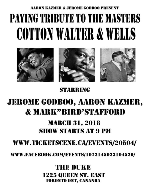James Cotton Tribute Show