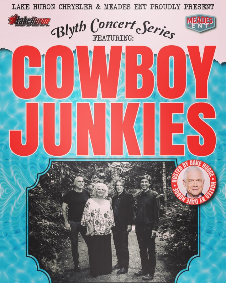 Cowboy Junkies live @ The Blyth Concert Series
