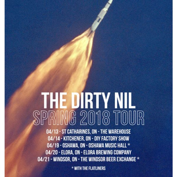 The Dirty Nil & Billy Moon @ Elora Brewing Co.