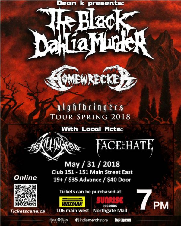 The Black Dahlia Murder  + Guests