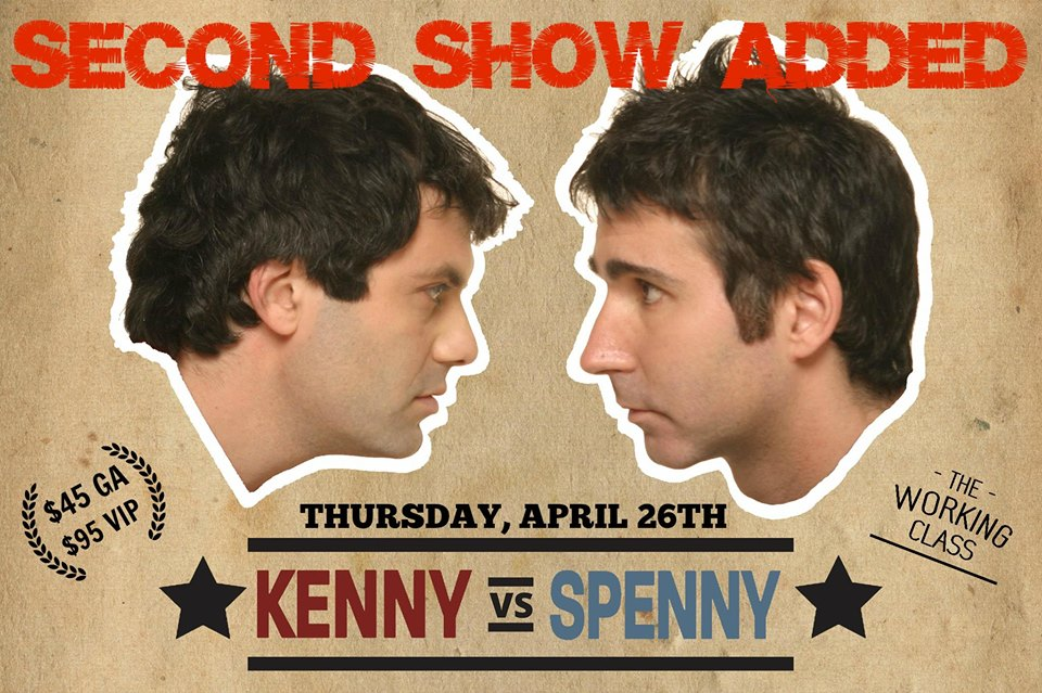 Kenny VS Spenny Live in Timmins ** SHOW #2** The Working Class.