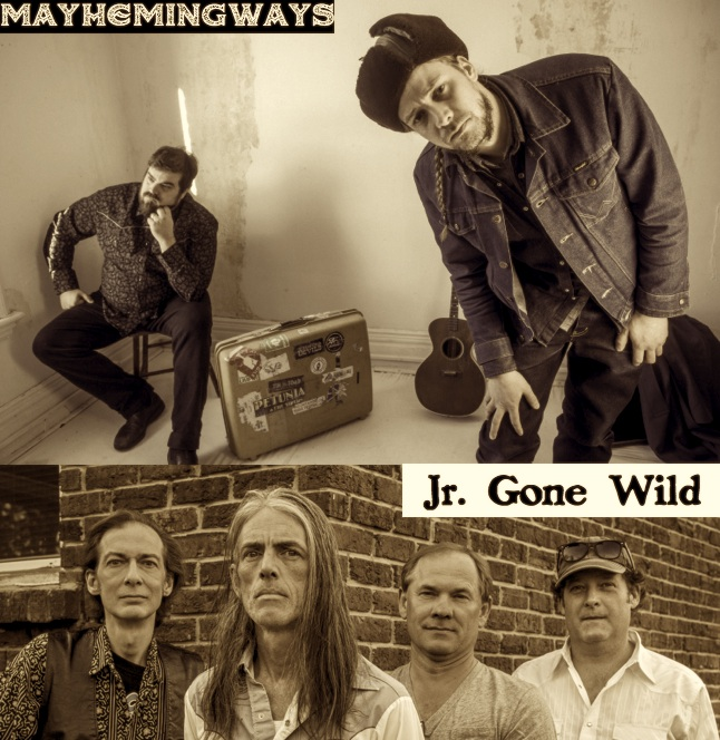 Jr. Gone Wild & Mayhemingways at The Red Dog