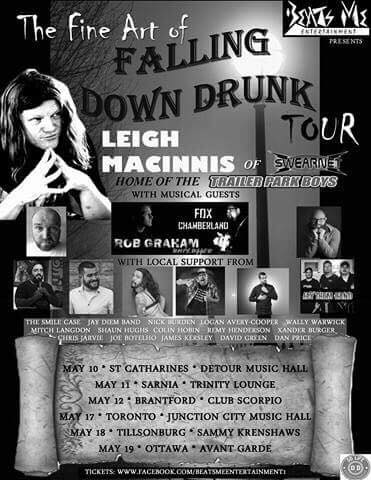 Leigh Macinnis LIVE: The Fine Art of Falling Down Drunk Tour at The Trinity Lounge