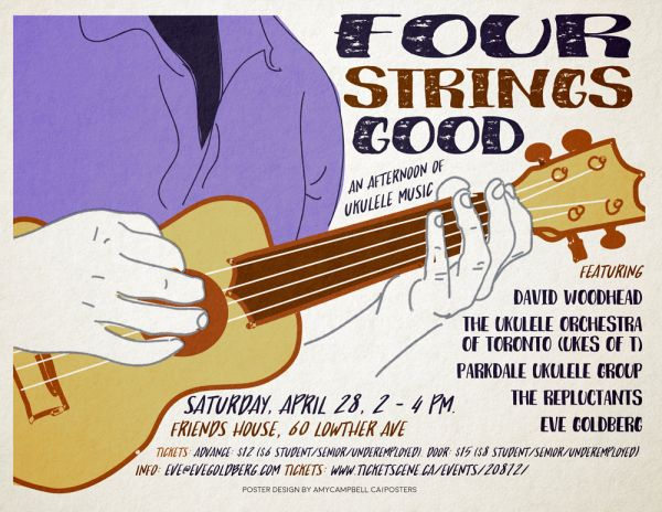 Four Strings Good: An Afternoon of Ukulele Music