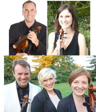 Five Outstanding Musician Friends play a famous Quintet