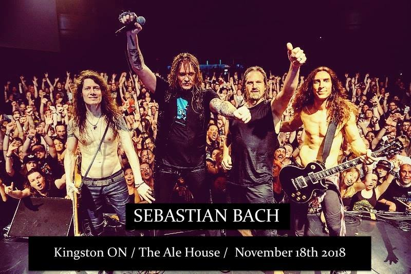 Sebastian Bach (Skid Row) + Special Guests Live In Kingston