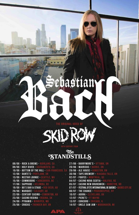 Sebastian Bach (Skid Row) + The Standstills Live In Montreal