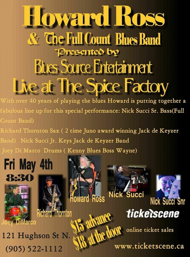 Howard Ross  & The Full Count Blues Band