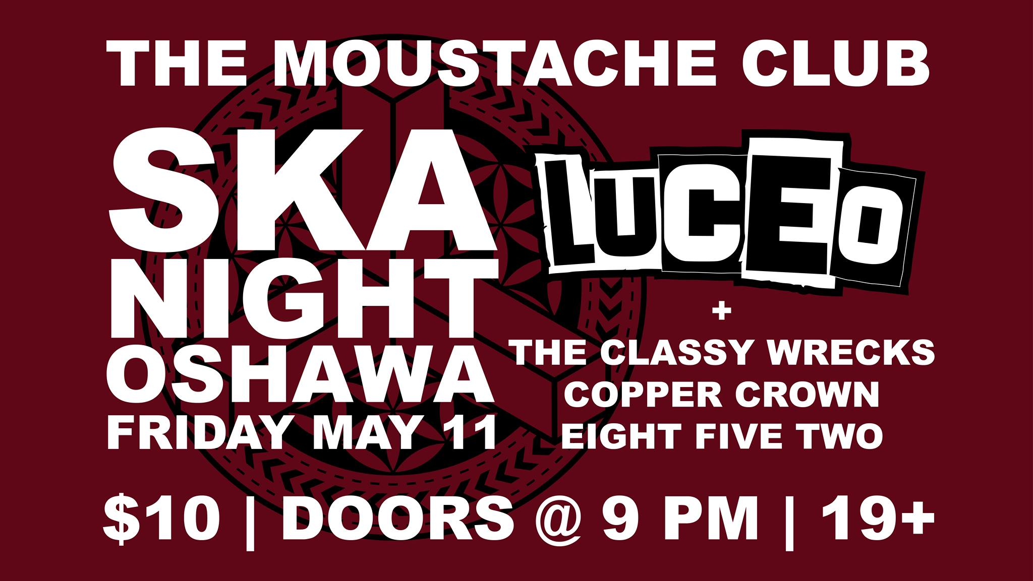 SKA NIGHT w/ Luceo, Classy Wrecks, Copper Crown & Eight Five Two