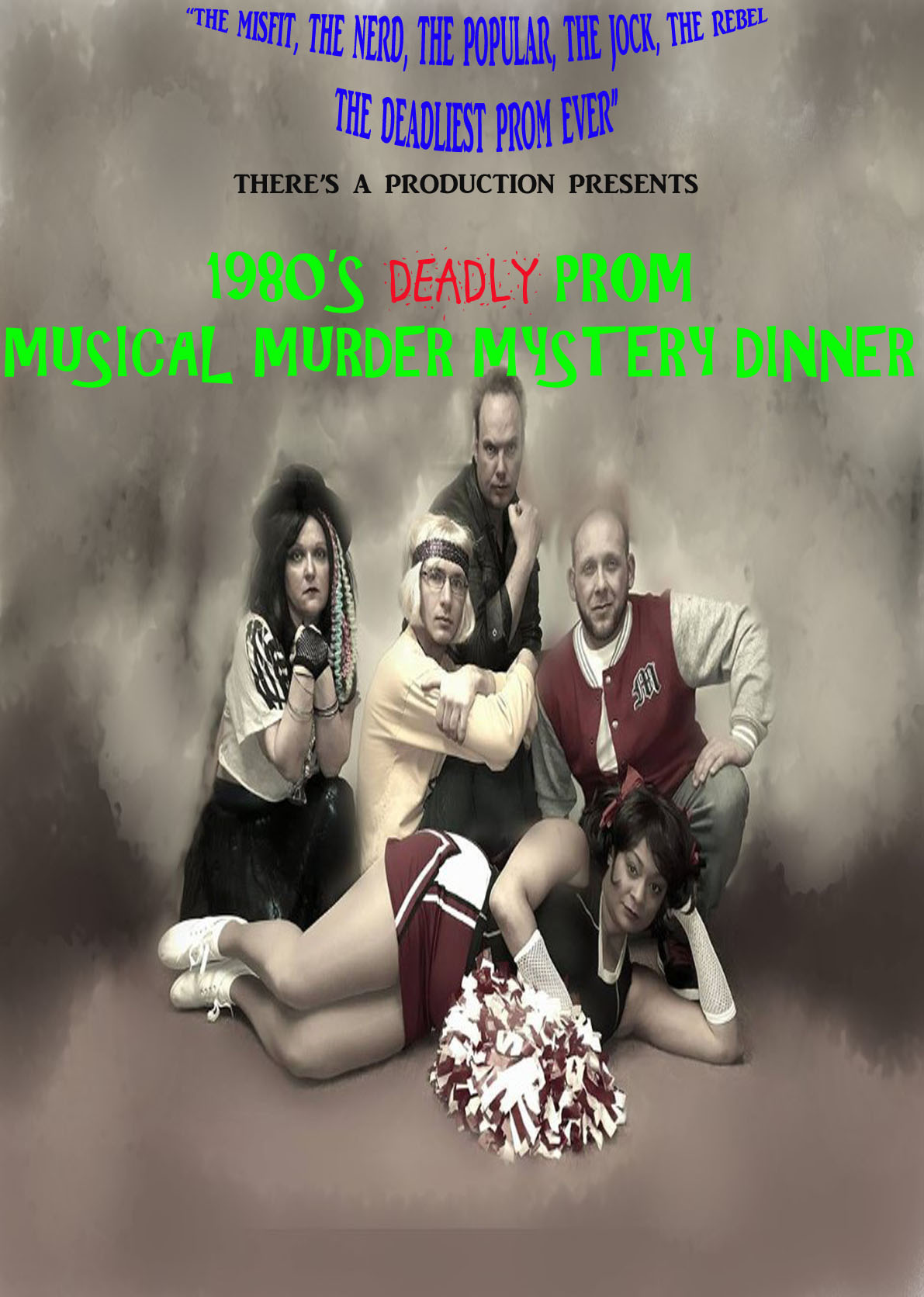 1980's Deadly Prom Musical Murder Mystery Dinner Show