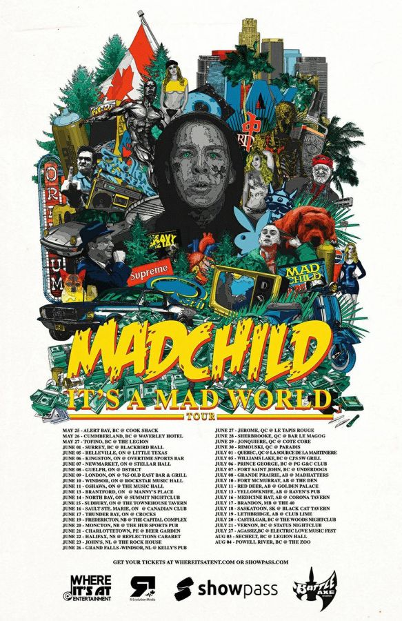 Madchild live in Thunder Bay at Crocks June 17th