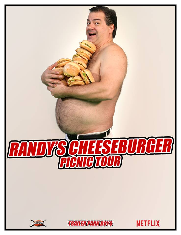 Randy's (Trailer Park Boys) Cheeseburger Picnic Party In Ottawa