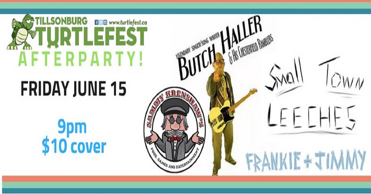 Turtlefest Afterpaty w/ Butch Haller and His Chesterfield Ramblers & Small Town Leeches