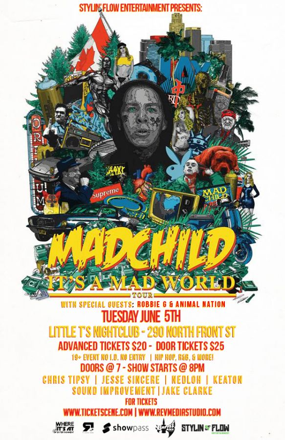 MadChild - Its A Mad World Tour - Belleville