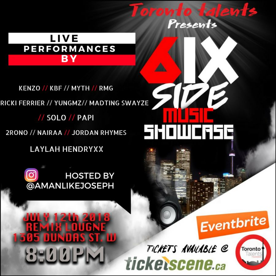 6IX SIDE MUSIC SHOWCASE
