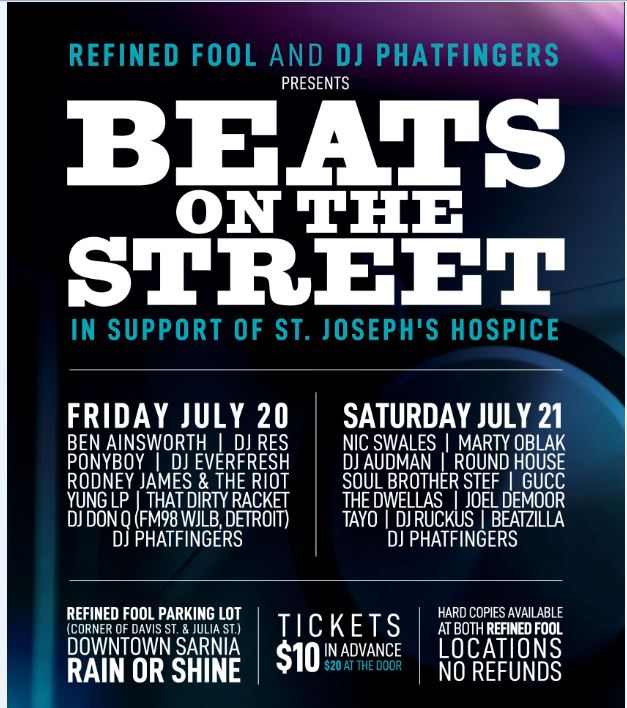 Beats On The Street 2018 - Saturday July 21
